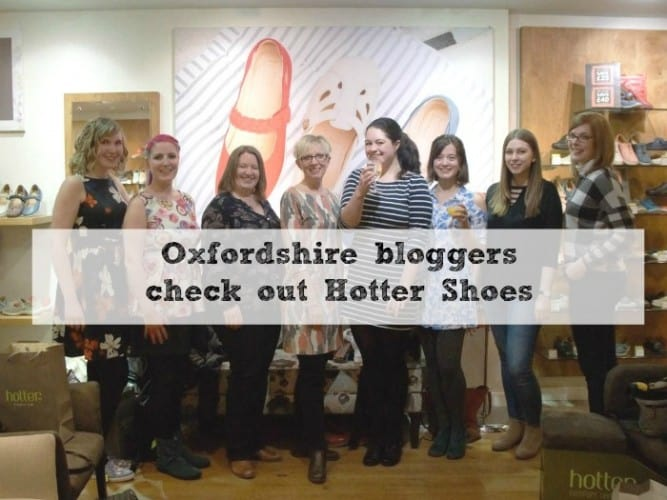 Oxfordshire bloggers hotter event featured