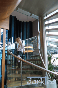 Prezzo Didcot glass staircase
