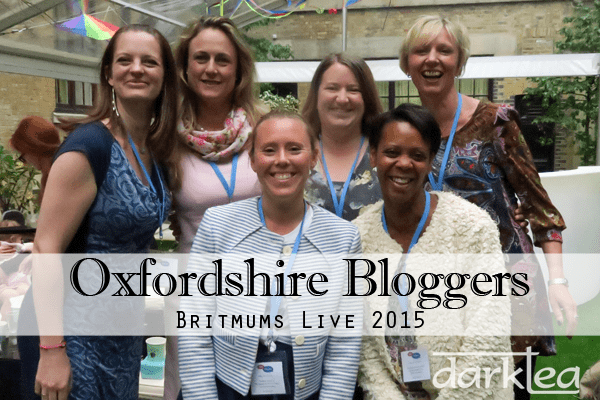Oxfordshire Bloggers BritMums Live