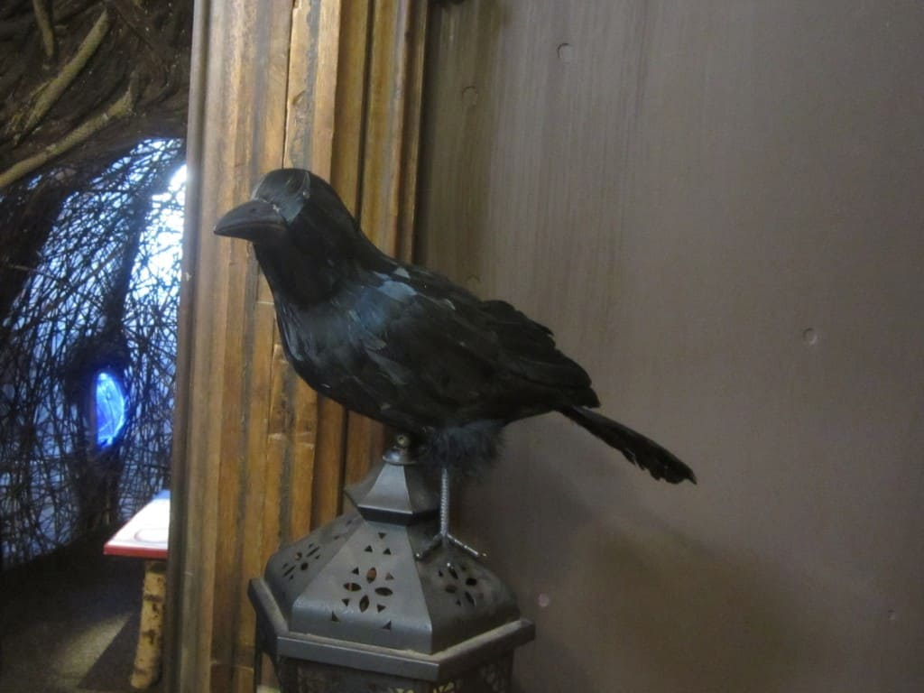 """""""The Fox and the Crow"""" at The Story Museum, Oxford"""
