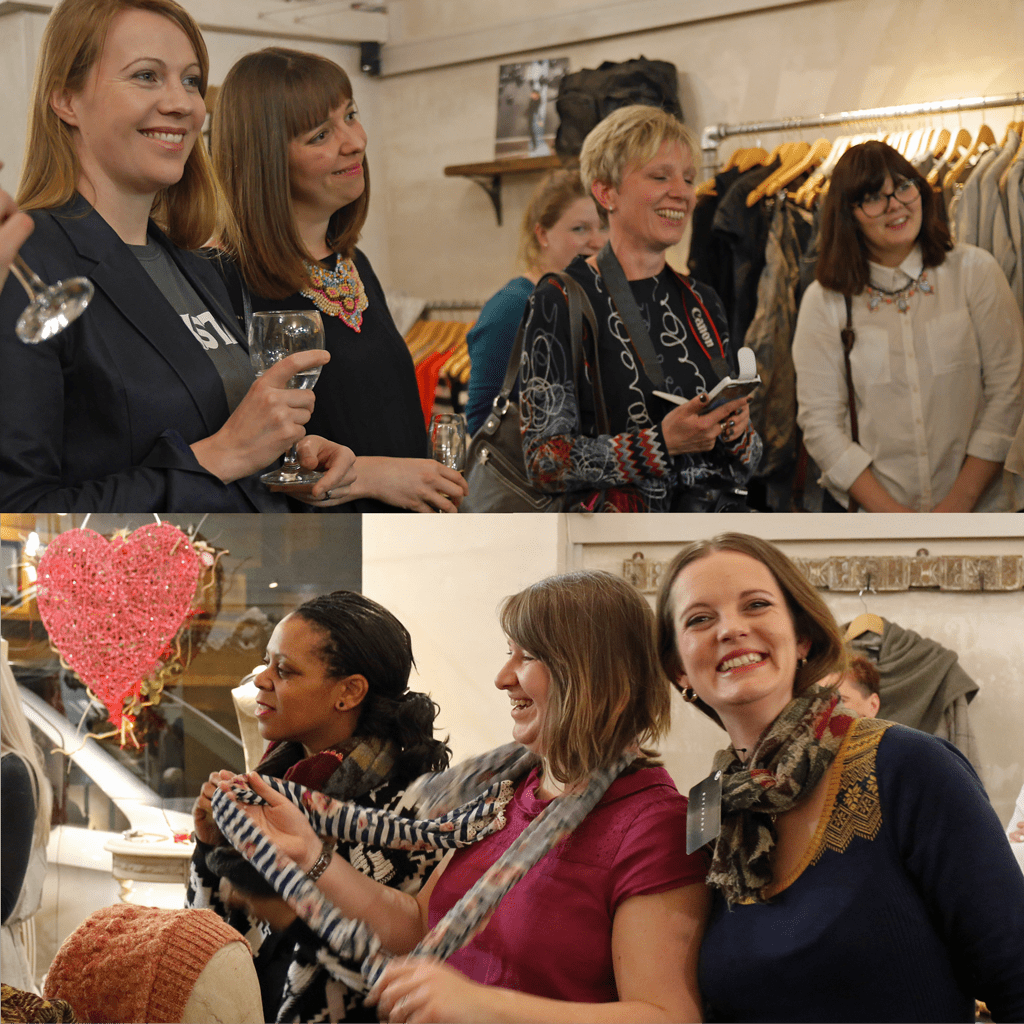 Oxfordshire bloggers at Olivia May
