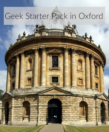 Geek starter events in Oxfordshire