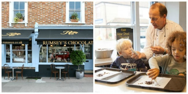 Rumsey's Thame Cafe Lollipop Making