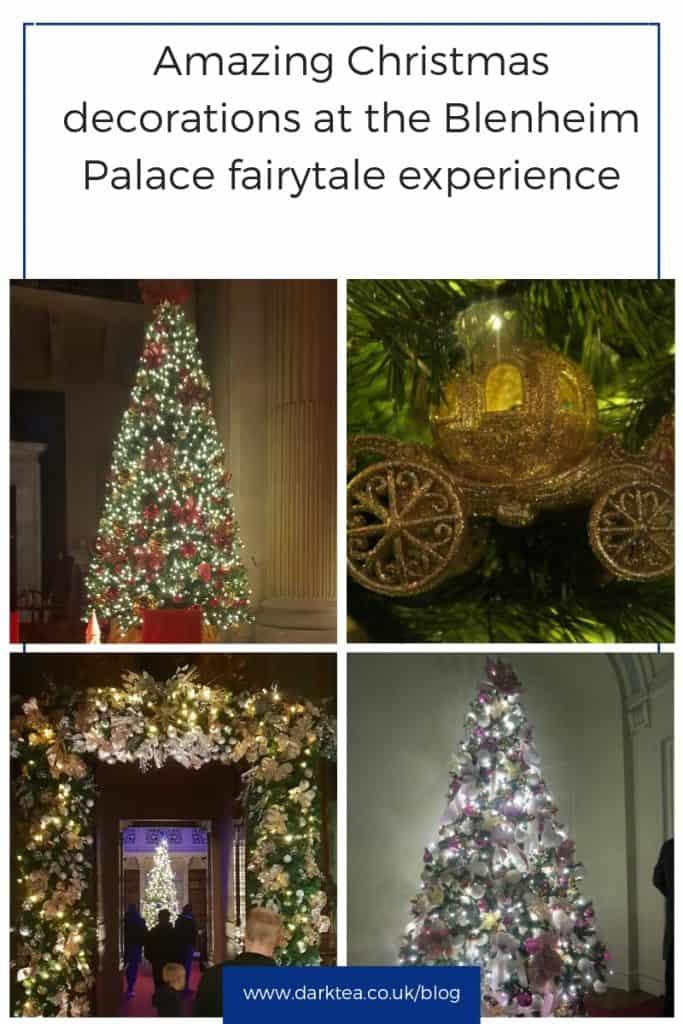 Blenheim Palace Christmas decorations